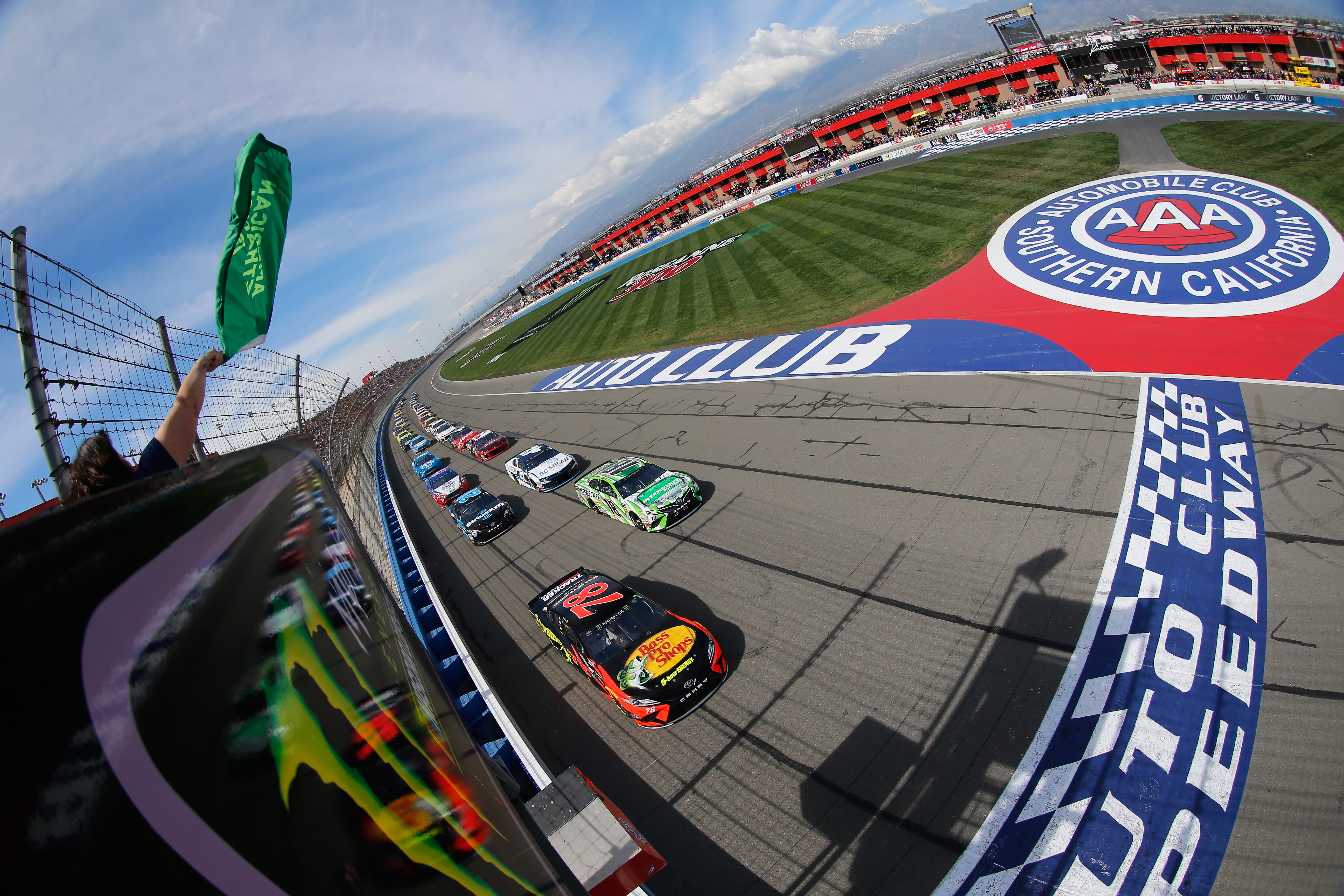 Austin Dillon Scores Top 10 Finish at Auto Club Speedway - American ...