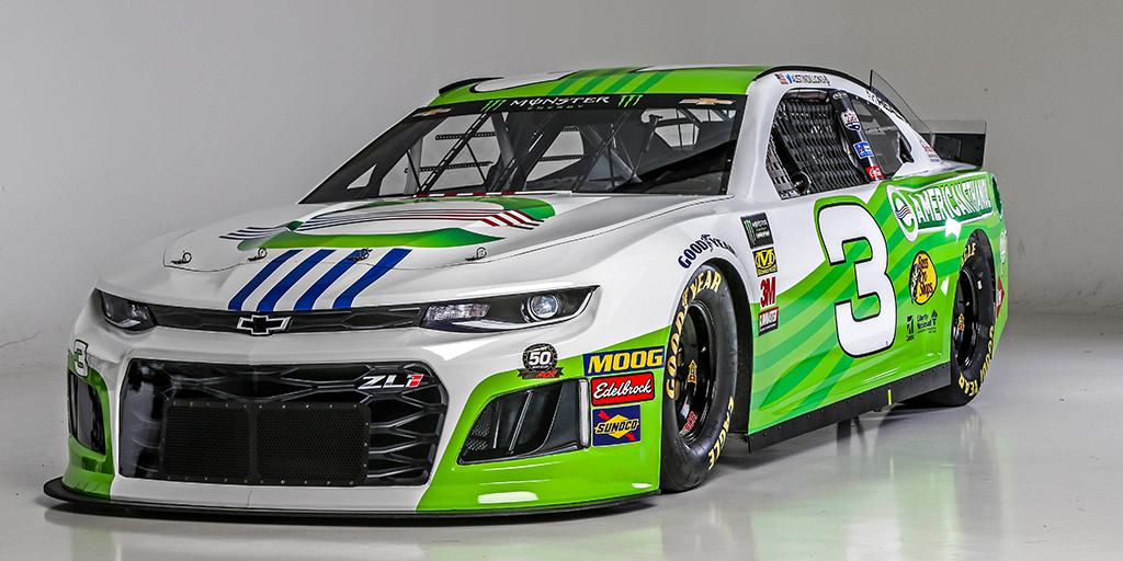 American Ethanol Unveils New 2019 NASCAR Paint Scheme - American