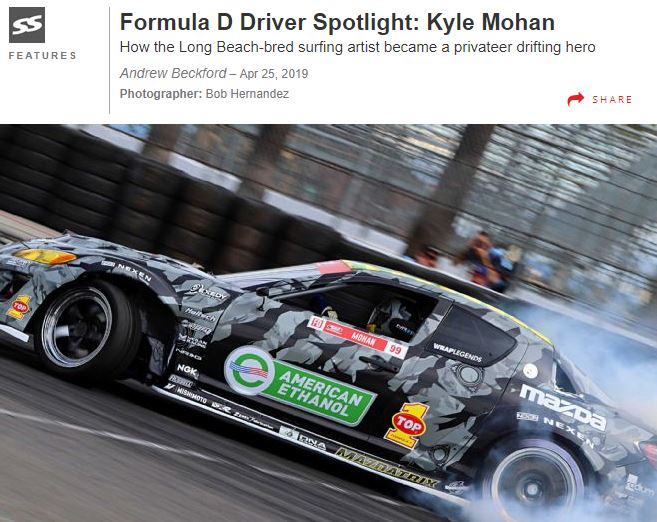 Kyle Mohan and American Ethanol Featured in Super Street Magazine